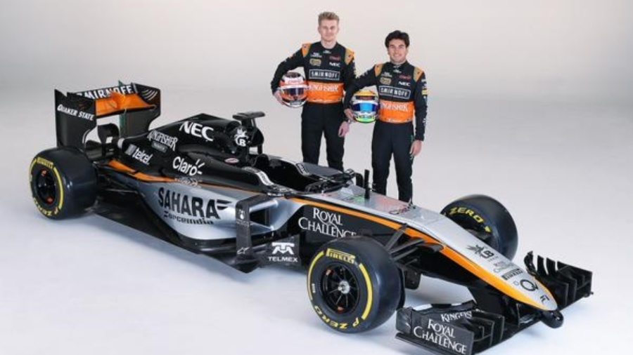 Mexicano pode voltar a formar dupla com Nico Hulkenberg, ao lado de quem correu na Force India entre 2014 e 2016 - Force India/Divulgação