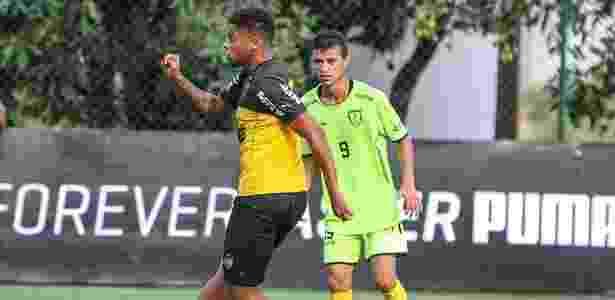 André fez um dos gols do Atlético-MG no jogo-treino contra o Minas Boca - Bruno Cantini/Clube Atlético Mineiro