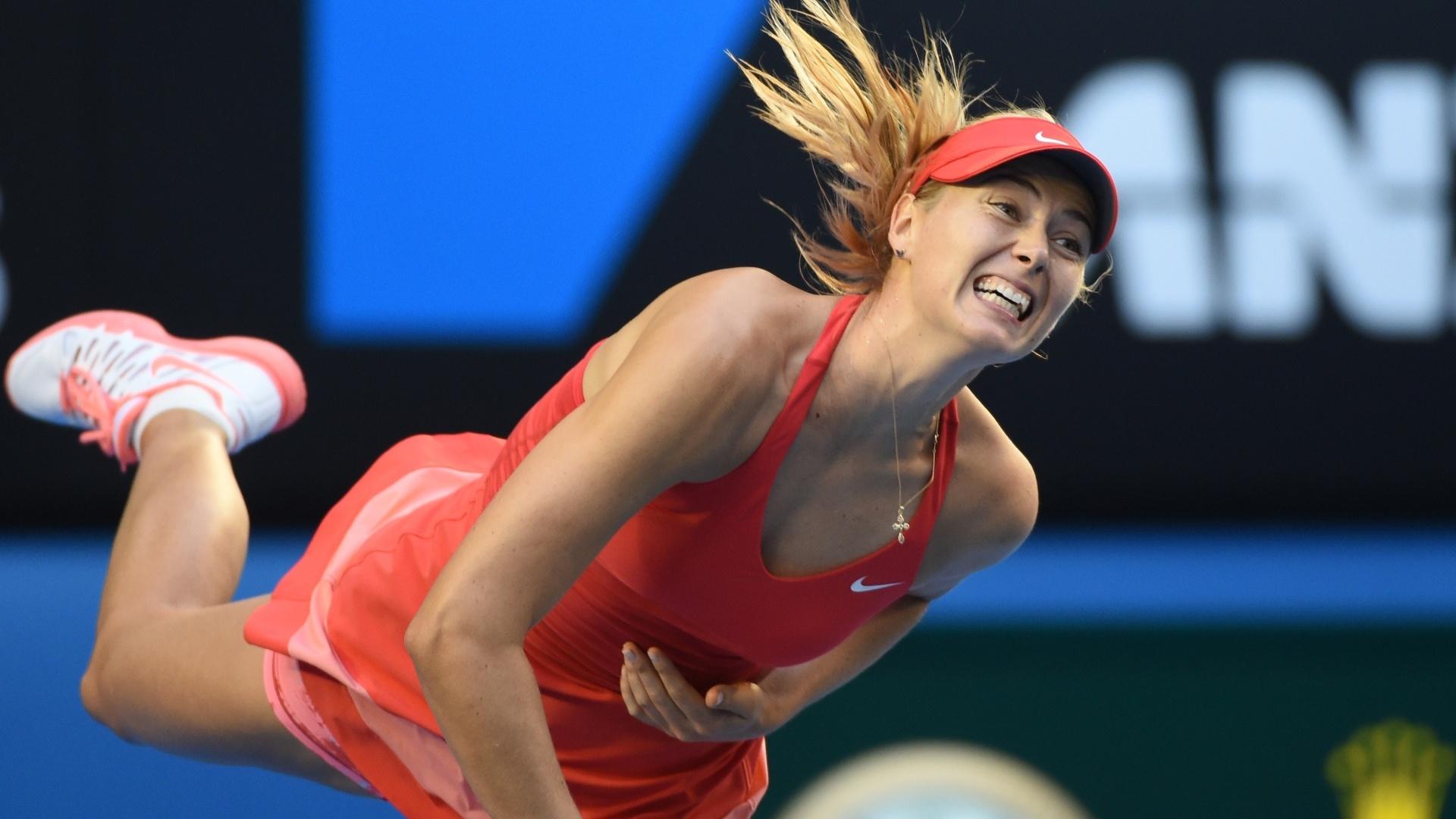 Maria Sharapova precisou de apenas 1h para derrotar a cazaque Zarina Diyas e avançar às oitavas de final