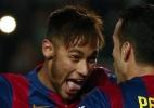 Neymar é destaque da seleção da semana do Fifa - José Jordan/AFP Photo
