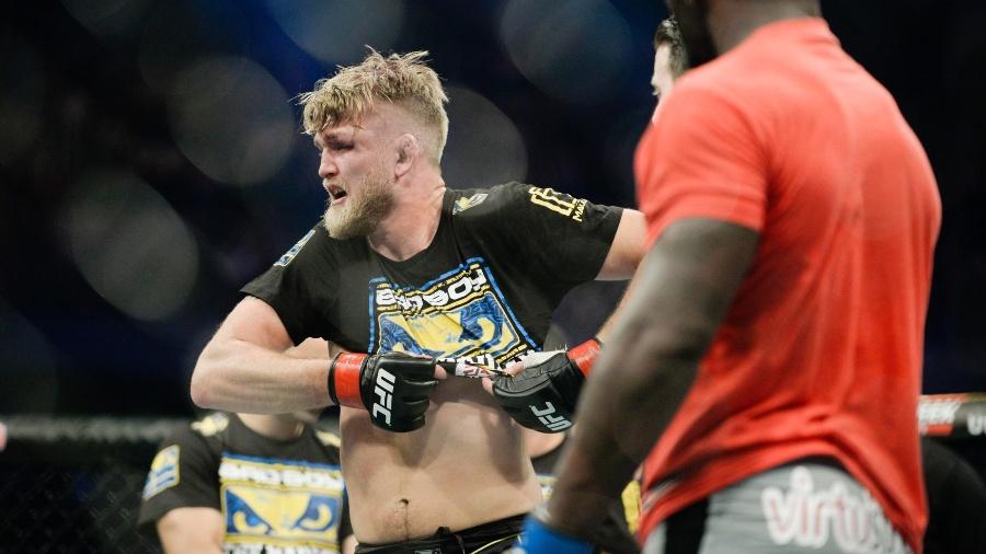 Gustafsson assumiu novo compromisso com o UFC - TT NEWS AGENCY / REUTERS