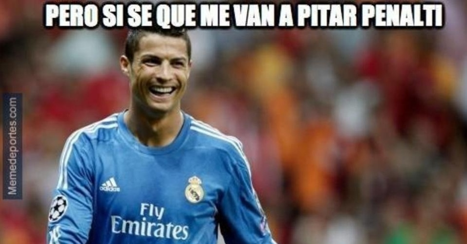 Internautas zoam CR7: