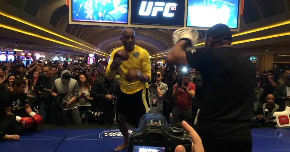 28.01.2015 - Treinos abertos do UFC