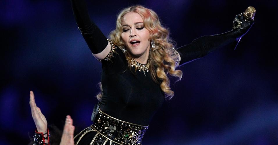 Madonna foi a protagonista do show de intervalo de Super Bowl de maior audiência da história. Ela se apresentou  no Super Bowl 46, que foi realizado em fevereiro de 2012, em Indianapolis, nos Estados Unidos