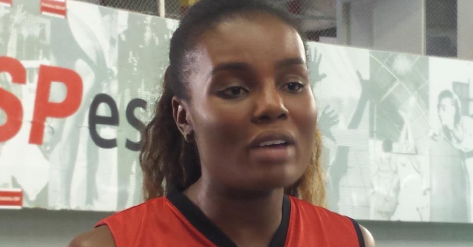 Fabiana é capitã da seleção brasileira de vôlei
