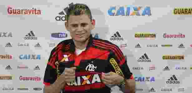 Jonas em sua apresentação no Flamengo em 2015 - Gilvan de Souza/Fla Imagem