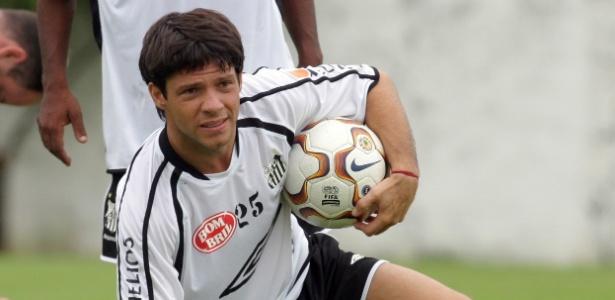 Como jogador, Preto Casagrande defendeu Santos (foto), Bahia, Flu, entre outros - Fernando Santos/Folha Imagem