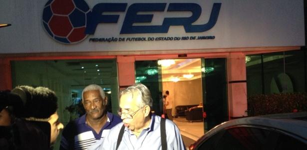 Eurico Miranda tem passe livre na federação de futebol do Rio de Janeiro