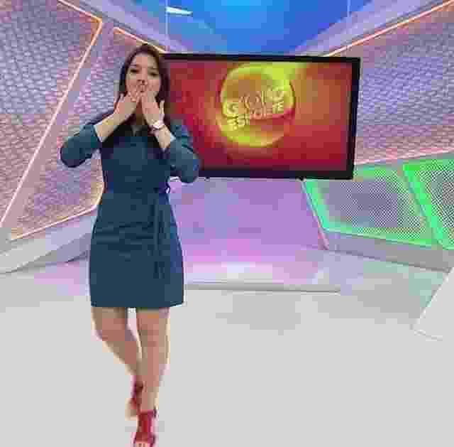 Maíra Lemos é apresentadora do Globo Esporte de Minas e se tornou muito querida pelas torcidas mineiras - Divulgação/TV Globo