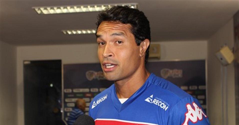 30.jan.2015 - Dudu Cearense vai defender o Fortaleza na temporada 2015