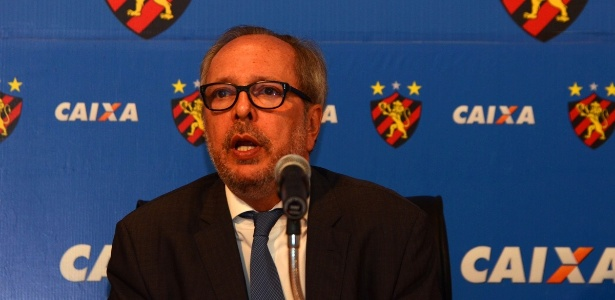 João Humberto Martorelli, presidente do Sport desde dezembro de 2014