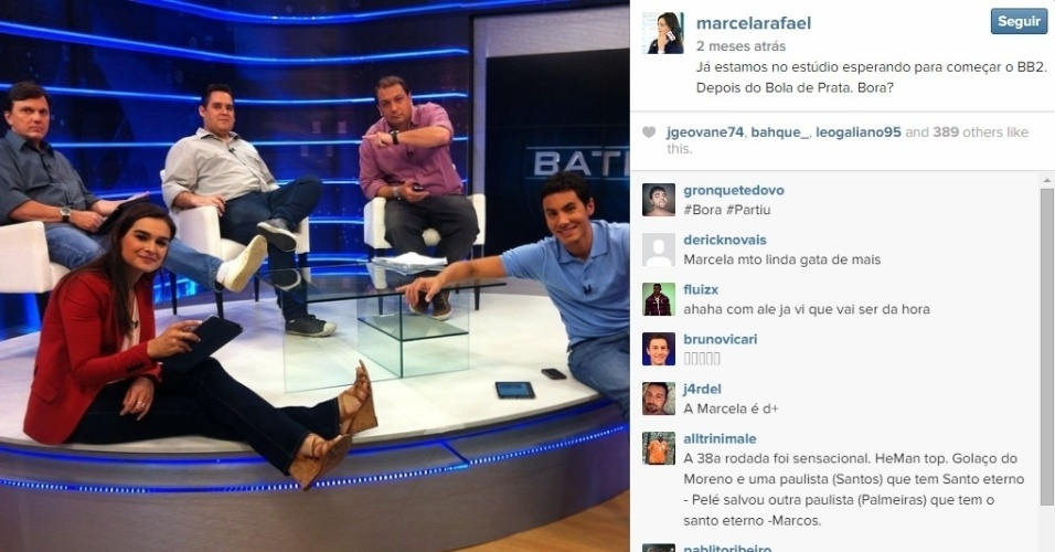 Marcela Rafael é apresentadora da ESPN - BOL Fotos - BOL Fotos