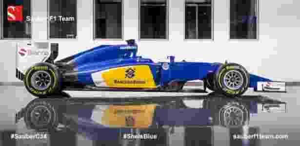 Sauber F1/Divulgação