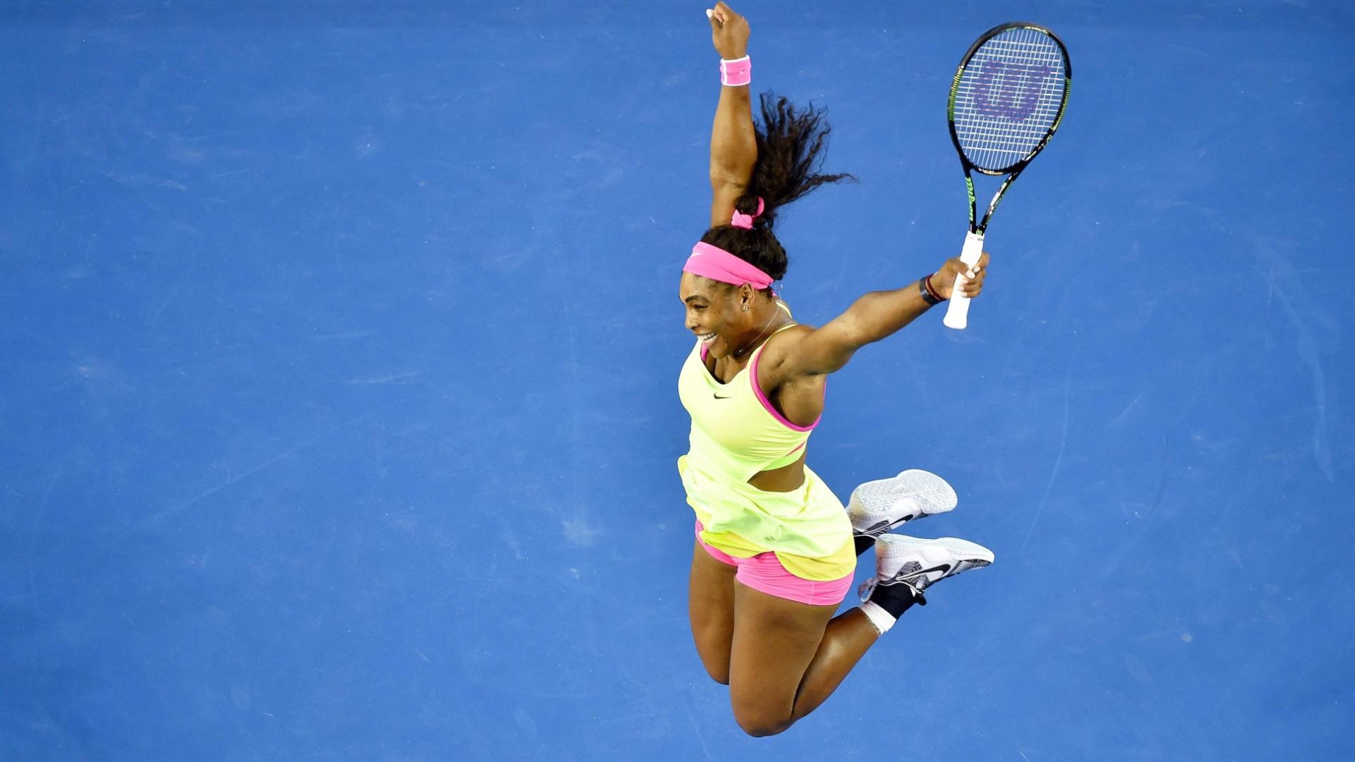 Americana se aproxima de marca de 22 Grand Slams de Steffi Graf