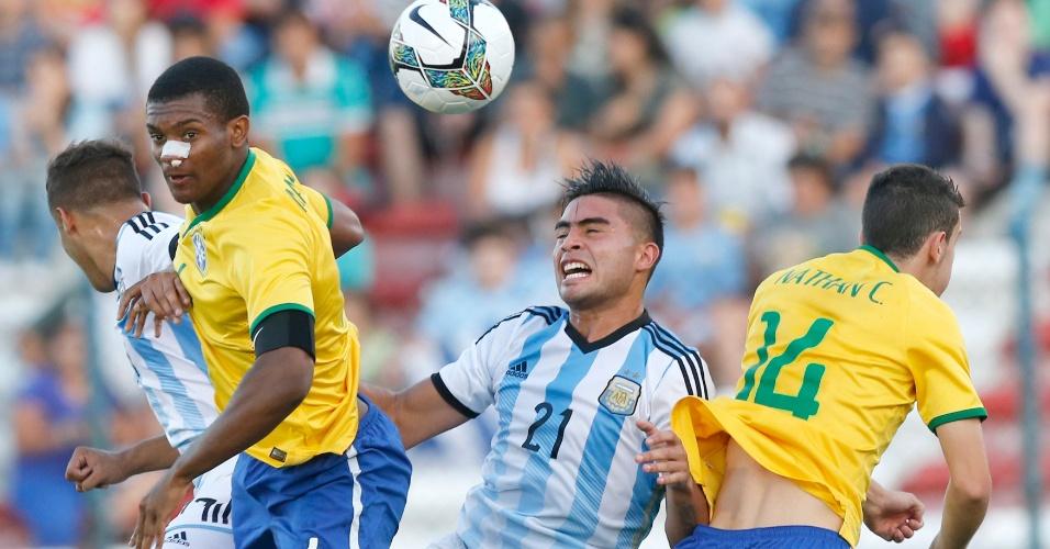 Brasil e Argentina se enfrentam no Sul-Americano sub-20 do Uruguai