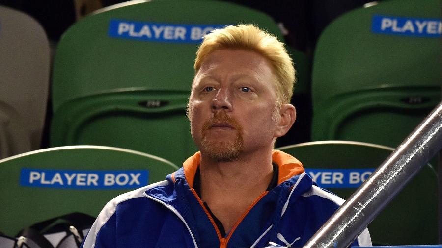 O ex-tenista e técnico de Novak Djokovic, Boris Becker, falou sobre a questão do racismo - AFP PHOTO / PAUL CROCK
