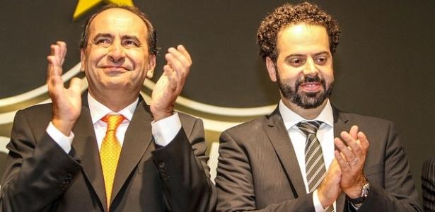 Kalil e Nepomuceno trabalharão juntos na prefeitura de Belo Horizonte