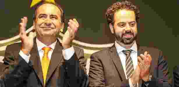 Sucessor de Alexandre Kalil (esquerda), Daniel Nepomuceno não vai tentar a reeleição no Atlético-MG - Bruno Cantini/Atlético-MG