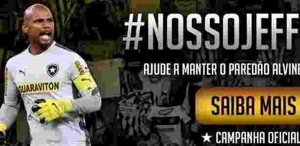 8aa55d27b4 Botafogo lançará vaquinha por Jefferson até Carnaval. Valor mínimo é R  20