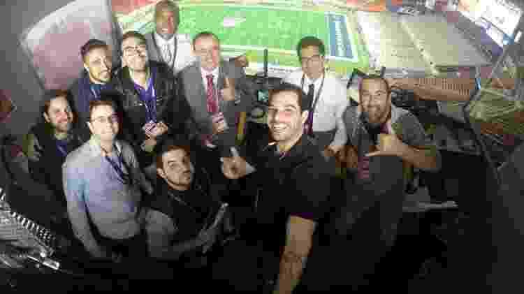 """Everaldo e Paulo se tornaram símbolo da NFL, hoje uma das """"caras"""" da ESPN no Brasil - Arquivo Pessoal"""