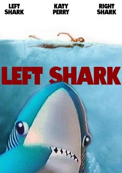 """""""Left Shark"""" vira sensação após errar completamente coreografia em show de Katy Perry"""