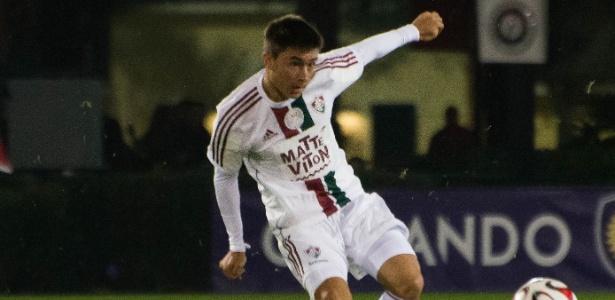 Olivera teve poucos minutos com a camisa do time profissional do Fluminense - Bruno Haddad/Fluminense FC