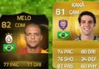 Felipe Melo e Kaká na seleção! Se Dunga escalasse pelo Fifa... - Reprodução