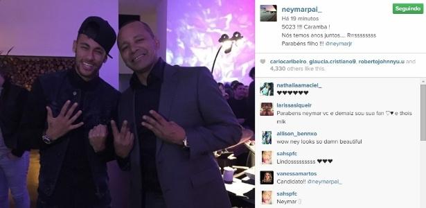 Neymar e seu pai teriam sido denunciados - Reprodução/Instagram