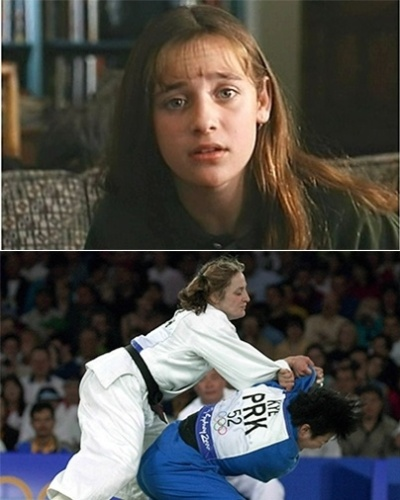 Hillary Wolf, atriz e judoca