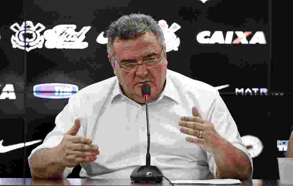 Mario Gobbi dá entrevista no Corinthians - Ernesto Rodrigues/Folhapress