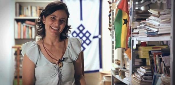 A vereador eleita Soninha Francine (PPS)