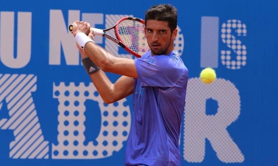 Thomaz Bellucci em ação no ATP 250 de Quito