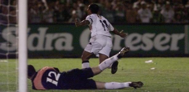 Em 2000, Vasco perdia por 3 a 0 para o Palmeiras, mas virou para 4 a 3 em 45 minutos