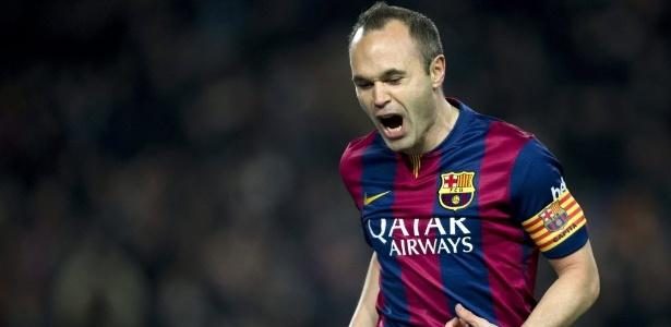 Iniesta tem contrato com o Barcelona até 2018 - EFE/Alejandro García