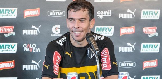Galo não decidiu se quer renovar com Leandro Donizete, que interessa ao Santos - Bruno Cantini/Atlético-MG