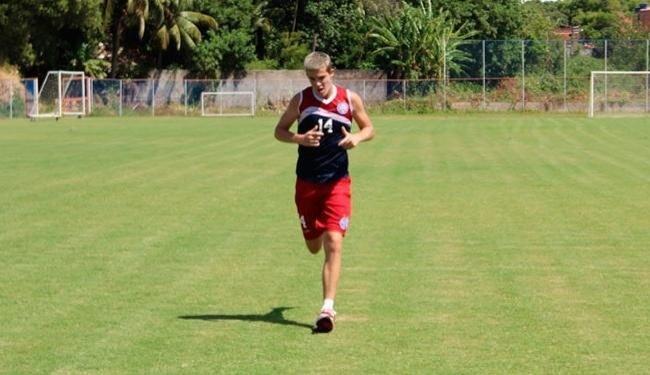 Recuperado, Bruno Paulista treina no Fazendão