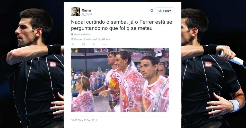 Internautas reclamam de ausência de Nadal e Guga em transmissão da Globo e zoam Ferrer
