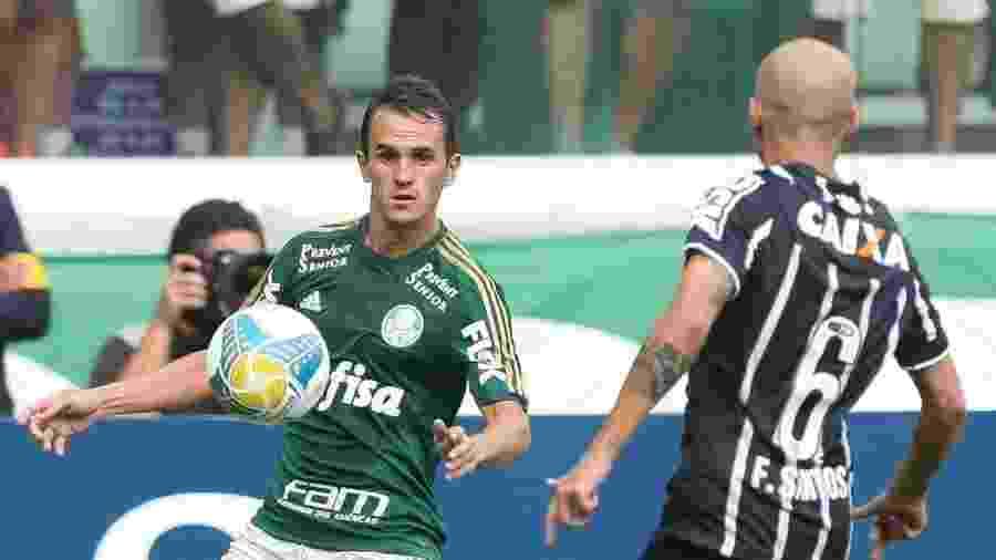 Último clube do lateral Lucas, que também jogou por Fluminense e Cruzeiro, foi o Figueirense - Cesar Greco/Ag. Palmeiras/Divulgação