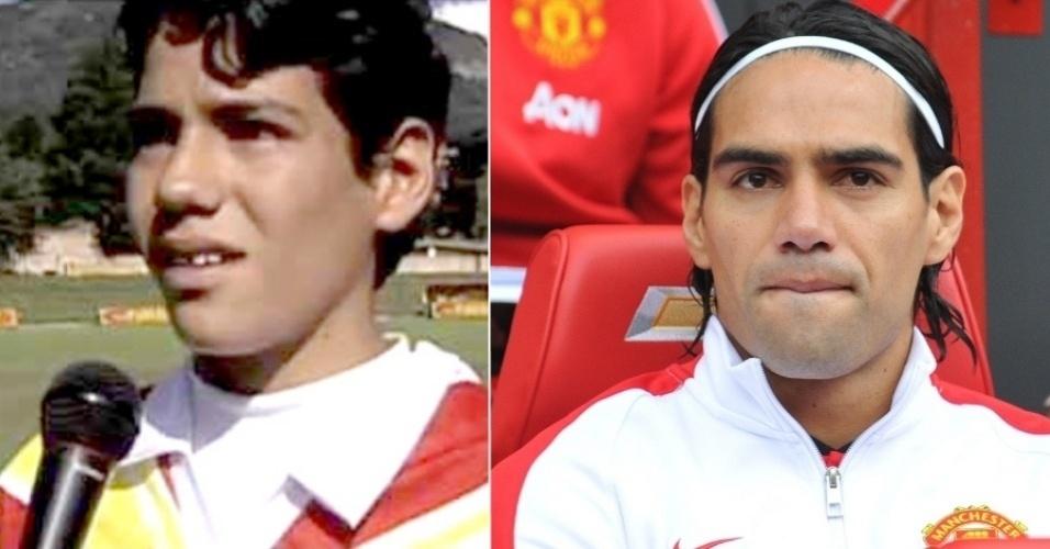 Falcao Garcia, colombiano do Manchester United
