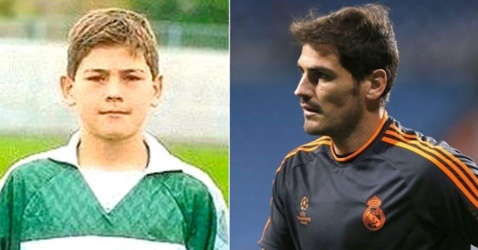Iker Casillas, goleiro da Espanha e do Real Madrid