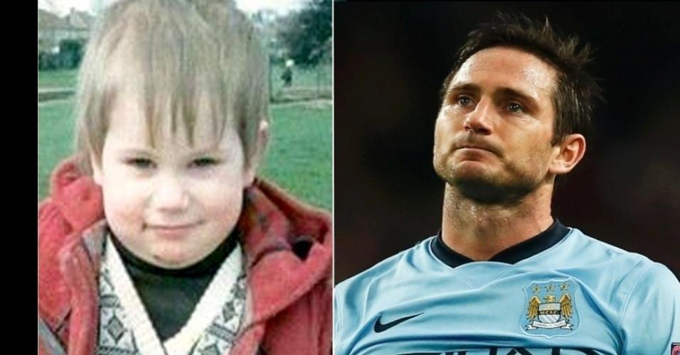 O inglês Frank Lampard do Manchester City e da seleção inglesa