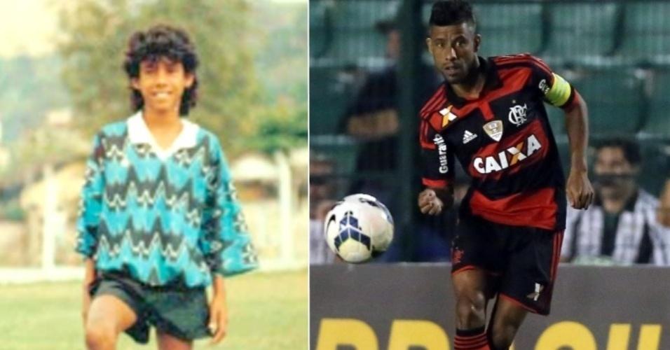 O ex-lateral do Flamengo Leo Moura