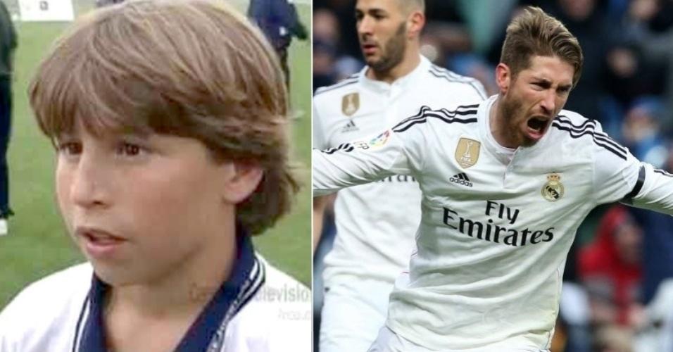 Sergio Ramos, jogador do Real Madrid