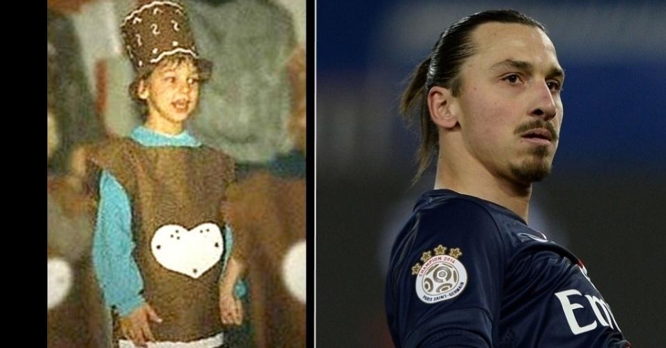Zlatan Ibrahimovic, da seleção sueca de futebol e ídolo do PSG da França