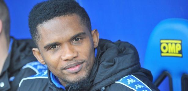 Eto'o se destacou atuando no Barcelona, Inter de Milão e Chelsea