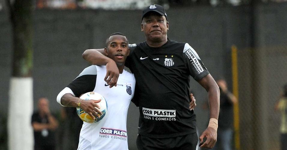 Robinho superou Serginho Chulapa e João Paulo na lista de artilheiros do Santos