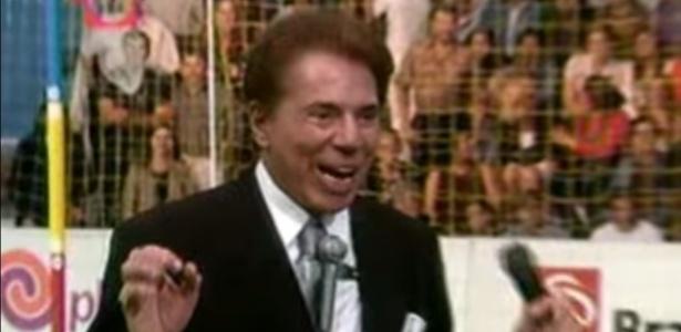"""Silvio Santos durante o programa """"Gol Show"""" - Reprodução/SBT"""