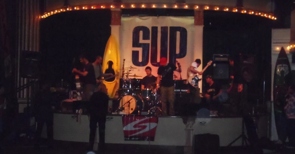 A festa de encerramento de 2012 contou com show e muita animação