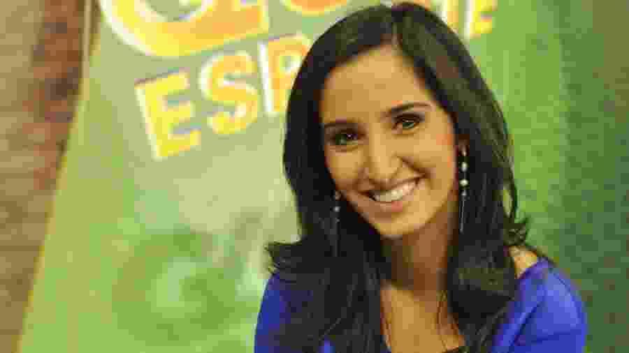 Alice Bastos Neves é a titular do Globo Esporte do Rio Grande do Sul - Lívia Stumpf/Divulgação/Agência RBS