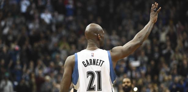 Kevin Garnett anunciou sua aposentadoria da NBA aos 40 anos - EFE/CRAIG LASSIG